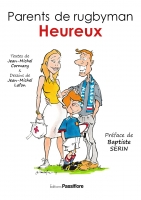 Parents de rugbyman heureux