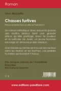 Chasses furtives (Grands Caractères)