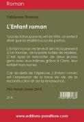 4e de couv L'enfant roman (Grands Caractères)