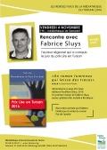 Fabrice Sluys à la médiathèque de Samadet le 4 novembre à 19h