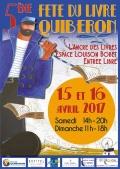 Fabienne Thomas à la 5ème fête du livre de Quiberon les 15 et 16 avril 2017
