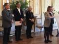 Fabrice Sluys reçoit le prix des Premières réalisations de l'ARDUA