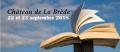 Les éditions Passiflore au salon de La Brède les 22 et 23 septembre