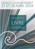 Fabienne Thomas à la Fête du livre de Quiberon les 27 et 28 avril