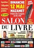 Bernard Housseau au salon du livre de Mazamet le 12 mai