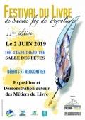 Élisabeth Rollin au Festival du Livre de Ste Foy de Peyrolières le dimanche 2 juin