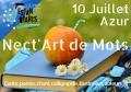 """Les éditions Passiflore à la manifestation """"Nect'Art de Mots"""" à Azur le 10 juillet"""