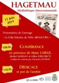 Table ronde autour de Marc Large à Hagetmau le samedi 15 juin à 10h30