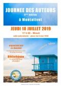 Chantal Detcherry à la Journée des Auteurs à Montalivet le 18 juillet à partir de 17h