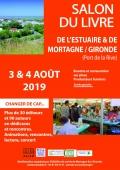 Bernard Housseau au salon du livre de Mortagne/Gironde le 4 août