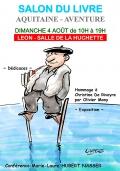 Les éditions Passiflore au salon du livre de Léon le 4 août