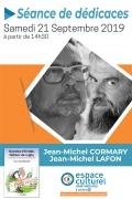 Gueules d'Ovalie à l'Espace Culturel Leclerc de St Médard en Jalles le samedi 21 septembre à partir de 14h30