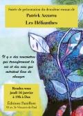 Patrick Azzurra à Dax chez Passiflore pour présenter son deuxième roman le 16 janvier