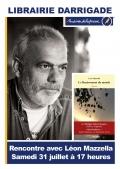 Léon Mazzella en dédicace à la librairie Darrigade à Biarritz le 31 juillet