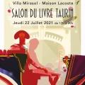 Bernard Carrère au Salon du Livre taurin à la Villa Mirasol (Mont de Marsan) le 22 juillet