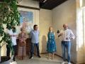 Dévernissage de l'exposition de Marc Large à Bergerac le 28 août
