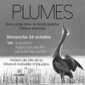 Patrice Mariolan à Arjuzanx le dimanche 24 octobre à 15h pour la présentation de PLUMES